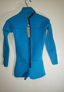 Body Glove Wetsuit Women's Smoothie Long Sleeve Spring Suit Turquoise Size 11/12