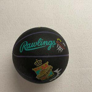 Vintage Rawlings NCAA Basketball Black Ball 1994 Final Four Charlotte