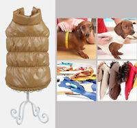 Puppy Cat Dog Winter Warm Coat Jacket Vest Pet Clothes Appar Waterproof Clothing
