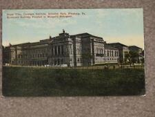 Carnegie Institute, Schenley Park, Pittsburg, Pa., Finished in Mengels Mahogany