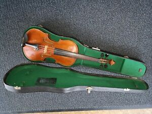 Alte Geige 4/4 Violine mit Zettel