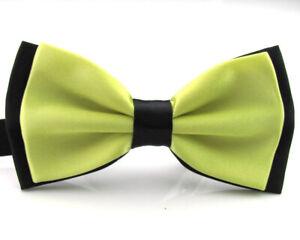 Men Classic Tuxedo Satin Adjustable Bowtie Wedding Party Formal Pre-tied Bow Tie