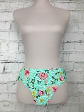 d7b0528dd1 Womens ACCESSORIZE Turquoise Patterned Bikini Bottoms Brief Size 6