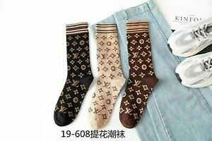 NEW /3 pairs! Cotton Socks Design One Size Fits 100%NEW    A AAAAAA+