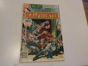 DC - WEIRD WESTERN TALES Scalp hunter #39  Apr 1977 Vintage Comic