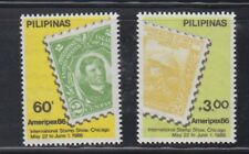 Philippine Stamps 1986 Ameripex 86 (Jose Rizal) Complete set MNH