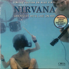 NIRVANA Greatest Hits Live On Air BLUE VINYL NEW! Sealed LP