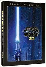 STAR WARS - The Force Awakens Collector's Edition 3D Region Free (NEW BLU-RAY)