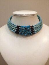 Turquoise Stone Collar Fashion Necklaces & Pendants