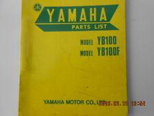 yamaha  yb100 . yb100f . yb 100 . yb 100 f   . parts list