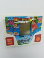 VINTAGE TIGER MINIATURE GOLF+ARCADE PINBALL ELECTRONIC HANDHELD GAME Tested Work