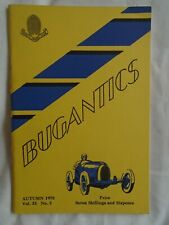 Bugantics Autumn 1970 Vol 33 No 3