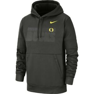 new Nike Oregon Ducks Therma Pullover Hoodie CQ5557 355 mens XL sequoia/yellow