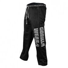 Gorilla Wear Logo Mesh Pants Sports Fitness Bodybuilding Meshpants Black