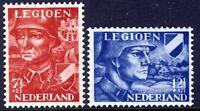 Netherlands 1942, Dutch Legion set VF MNH, Mi 402-03