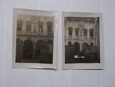 VENETO VICENZA LOTTO DI 4 FOTOGRAFIE PALAZZO TRISSINO DAL VELLO D'ORO