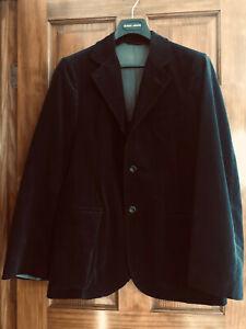 Giorgio Armani Italy Borgo 21 Finely Crafted Velvet Corduroy Sport's Jacket EU48