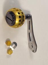 Gold Power Knob Handle With Ball Bearings Abu Garcia / Daiwa