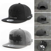XL~2XL XXL 60~63Cm Unisex Mens 2Pac Thug Life Out Law Baseball Cap Snapback Hats