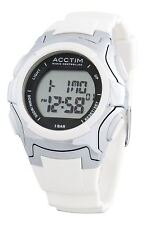 Sport Plastic Strap Round Wristwatches with 12-Hour Dial