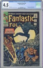 Fantastic Four #52 CGC 4.5 1966 1st app. Black Panther 🔥🔥🔥