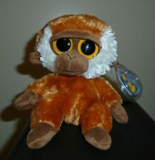 "Ty Beanie Boos - BONGO the 6"" Monkey - MINT with MINT TAGS"
