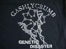 Vintage Gashlycrumb Genetic Disaster Gothic Novel Black  Men's T- Shirt XL