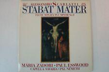 Scarlatti Stabat Mater Zadori Esswood Capella Savaria Pál Németh SLPD 12732 lp63