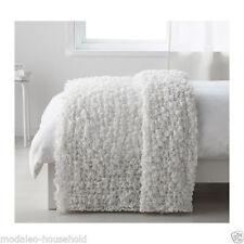 IKEA Ofelia Couvre-lit Couverture, Blanc 130 x170cm 80% polyester, 20% acrylique PUP10