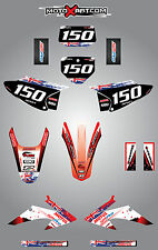 Full  Custom Graphic  Kit -AUSSIE PRIDE - HONDA CRF 230 F - 2008 - 2014 - decals