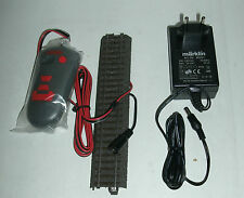 Märklin H0 29280+29282 Steuergerät Fahrregler Fernbedienung mit Anschlussgleis