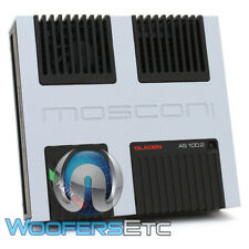 MOSCONI AS-100.2 AMP 2-CHANNEL 500W AS LINE CLASS AB AMPLIFIER MADE IN ITALY NEW