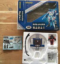 Recorder Robot Transformer Takara Gig