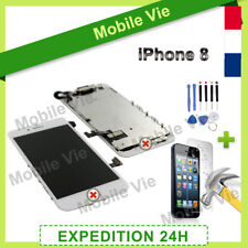 ECRAN COMPLET VITRE TACTILE + LCD RETINA ASSEMBLÉ POUR IPHONE 8 BLANC + OUTILS