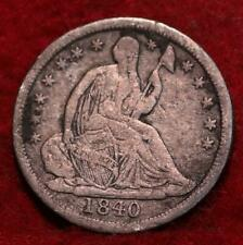 1840 Philadelphia Mint Silver Seated Liberty Half Dime