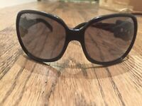 Fendi FS384 005  63 16 120 Sunglasses with buckle design on side