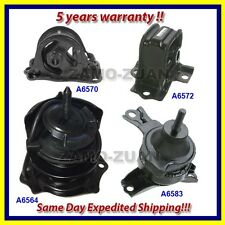 Engine Motor & Transmission Mount Set 4PCS. for 98-99 Honda Accord 2.3L for Auto