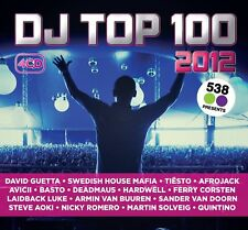DJ TOP 100 2012    DAVID GUETTA/AVICII/TIESTO/AFROJACK/BOB SINCLAR/+  4 CD NEW+