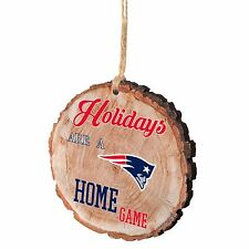 New England Patriots Christmas Tree Ornament Stump New Holidays are a Home Game