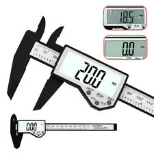 "LCD Digital Electronic Vernier Gauge Stainless Steel 150mm 6"" Caliper Micrometer"