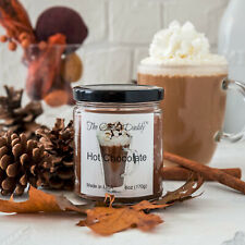Hot Chocolate Cocoa Scent Scented Candle Daddy Glass Jar 6 oz 40 Hour Burn NEW