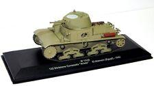 EAGLEMOSS DIECAST 1:43 - REF.NO.EX12 FIAT M13/40 ITALIAN ARMY EL ALAMEIN 1942