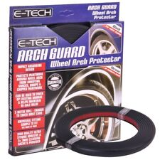 E-Tech Self Adhesive Universal Vehicle Arch Guard Wheel Trim Protector - Black