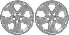 """(2) 2011-2014 FORD EDGE 18"""" CHROME LINERS SKINS HUBCAPS IMP-359XN"""
