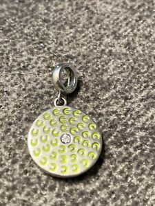 Chamilia Sterling charm With a Crystal in the Center