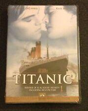 TITANIC DVD NEW 1999 Leonardo DiCaprio, Kate Winslet, James Cameron, Kathy Bates