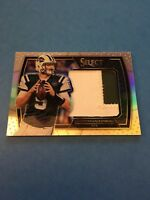 Christian Hackenberg Jets 2016 Select Jumbo Rookie Swatches #6 64/99