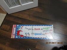 Dr Seuss 4 FOOT BANNER NIP 2011 Thing 1 & Thing 2