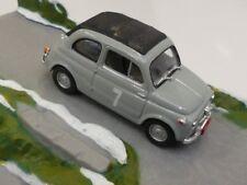 1/43 Fiat Nuova 500 Derivazione Abarth #7 grau