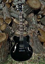 HOFNER HCT-VTH-BK (USA) Verythin Semi hollow Electric Guitar JET BLACK 335 VIBE
